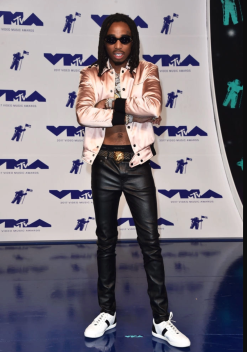 Quavo in Saint Laurent